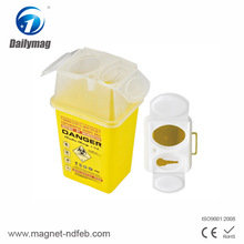 Hospital use high quality sterile blood donor set with sharps container , safety box for needles