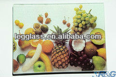 tempered unbreakable vegetable glass cutting board/scale cuting board