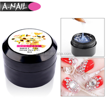 1 PCS Clear Professional Strong Adhesive Soak Off Nail Art UV Gel Rhinestone Glue 8 ML Waterproof Nail Glue For Decorating