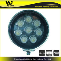 80W super bright round led driving light, super spot Oledone 4x4 Jeep high efficient led driving light