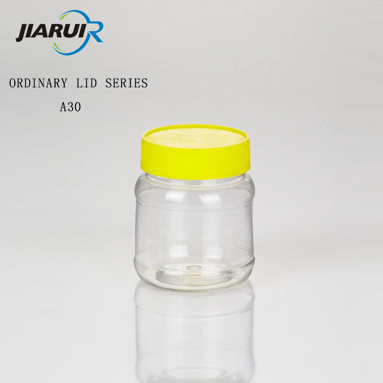 High-grade honey pot Plastic bottle seal pot Dried fruit jar of transparent PET wholesale