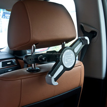 car seat 360 degrees rotation headrest mount holder for universal tablet pc