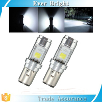 New Arrival Led Motorcycle Headlight Bulbs 12W 1200LM BA20D 6000K Hi Lo Beam All In One Lamp Scooter Headlight for Motorcycle