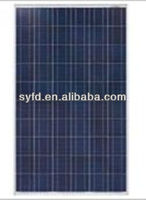 250W waterproof and UV protection Polycrystalline Solar Panel