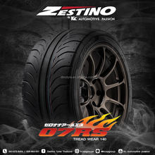 Zestino Japanese brand auto tire 275/35R18 race circuit slick motorsports race competition tyre japan factory
