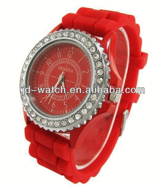lobor watch silicone GENEVA watch