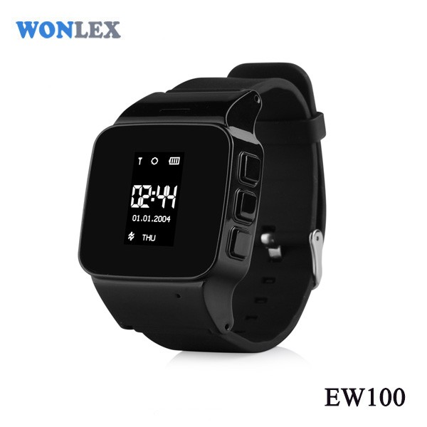 Wonlex Old Man EW100S Watch Phone CE RoHS High Quality Android Jav Watch Phone