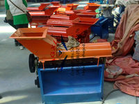walking tractor driven Corn coat peeling Sheller machine