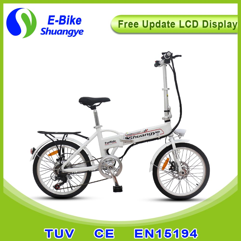 Popular 36v folding electric battery bicycle