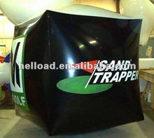 giant inflatable square helium balloon, cube shape inflatables for sale