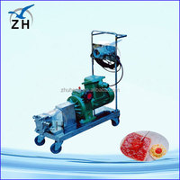 hand drill motors zyl52wd twin lobe roots blower/air blower/ pump fan in china