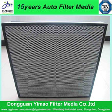 YIMAO ACTIVATED CARBON ANTI BACTIERIALHIGH EFFICIENCY FILTER MATERIALS /PAPER/MEDIA NONWOVEN