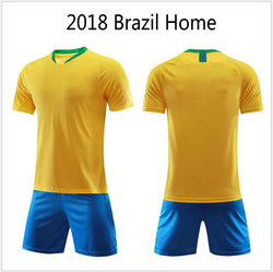 Thailand Quality 2018 World Cup Customized Soccer Jersey