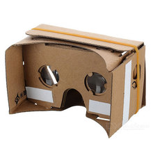 DIY Assembling Virtual Reality Cardboard 3D Glasses For 5.5'' Phones