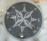 granite stone compass for paving/ garden and landscaping compass