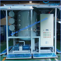 Double-Stage Stainless Steel Vacuum Transformer Oil Treatment Purifier Machine