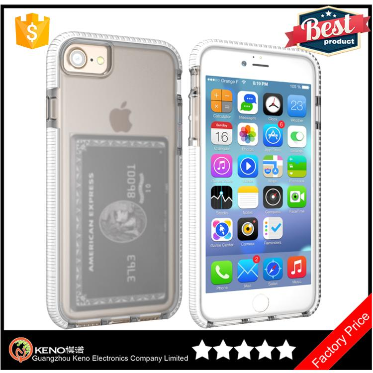 Most popular products china 4.7 inch cases protective Durable phone case with business card holder