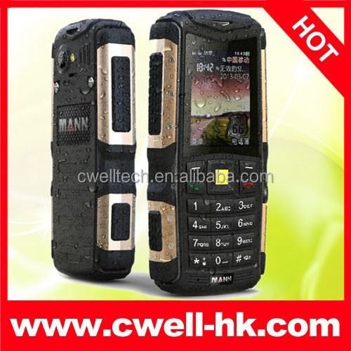 High Quality Durable Rugged Dustproof Shockproof MANN ZUG S IP67 Mobile Phone Waterproof Dual SIM Mobile Cell Phone