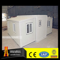 HS-035 China low cost eco-friendly material different size of expandable container house usa