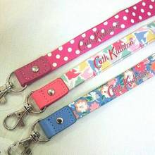 Supreme material flower fabric lanyard with china wind Floral mutiple flower