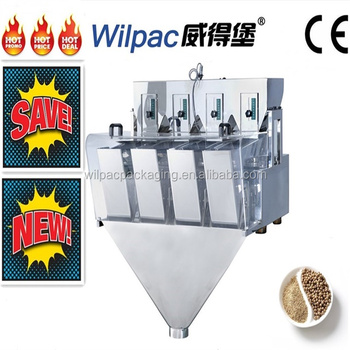China high quality white pepper modular weighing machine for 3L 4 head linear weigher with CE certification and high accuracy