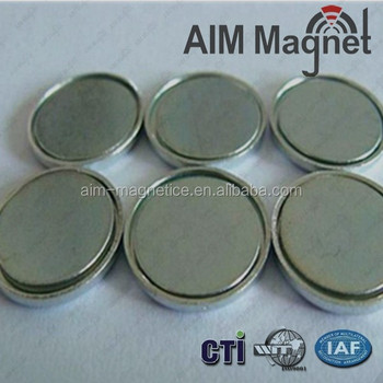 Customized Disc Neodymium Unipolar Magnet D25x2mm