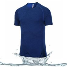 Custom latest new sport design high qualiy Printed fitness dry fit running T shirts for running