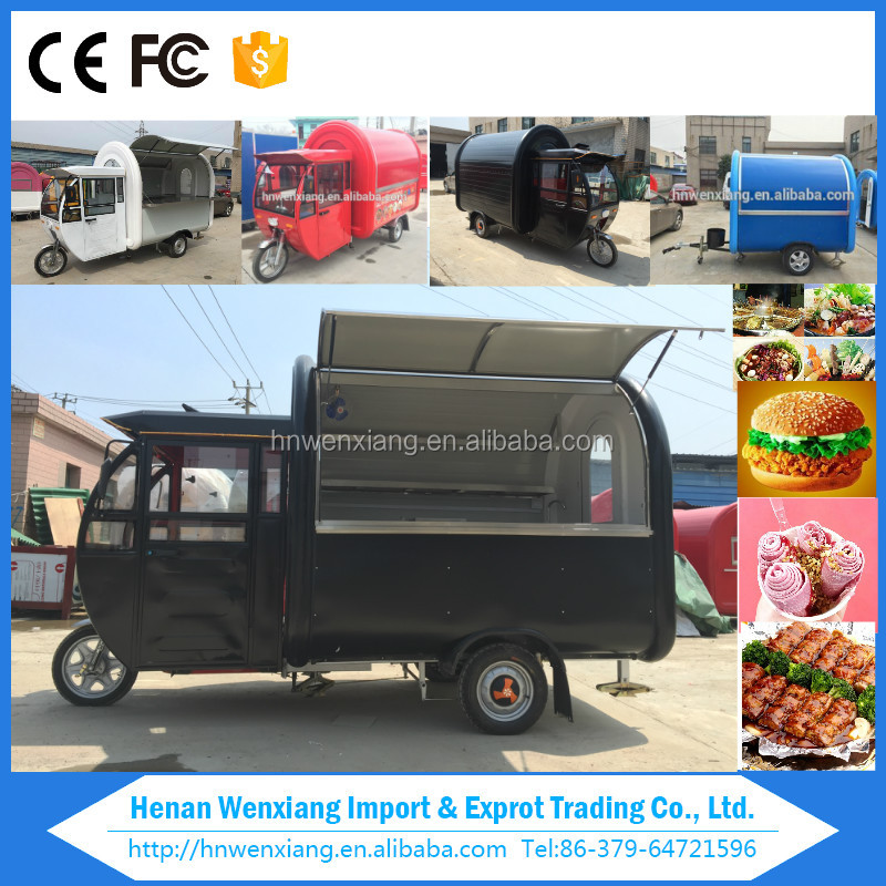 2017 Hot products mobile food truck,scooter food cart for sale