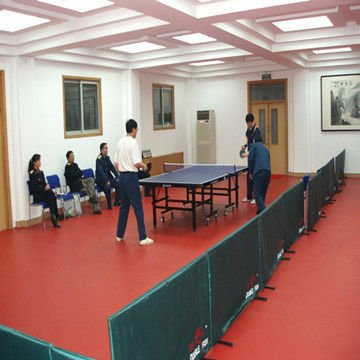 PVC vinyl sports flooring for table-tennis court