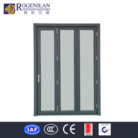ROGENILAN used commercial glass entry saloon doors exterior accordion doors