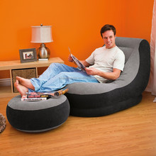 factory wholesale INTEX 68564 good quality soft lazy confortable luxury indoor inflatable sofa set