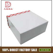 China custom popular personalized white printed beautiful paper box