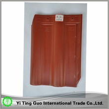 300*400 Iron red interlock ceramic roof tile