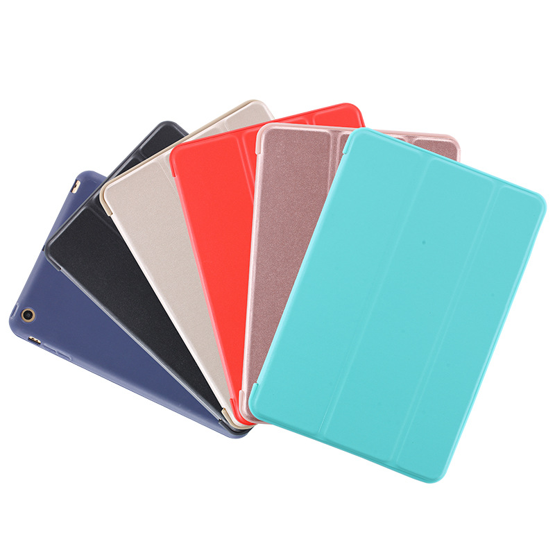 Slim Fit Leve Smart Cover com Soft TPU Tampa Traseira para iPad Mini Caso