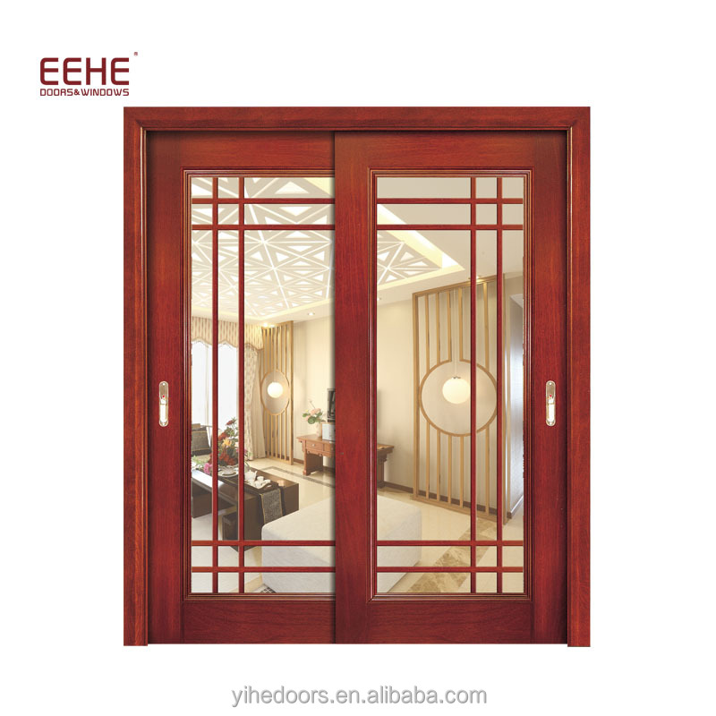 Commercial Office Wood Door With Frosted Glass From China - Buy Wood ...