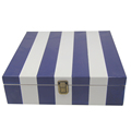 FSC&BSCI handmade decorative coating pine wooden box for essential oil