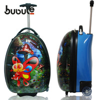 BUBULE 2016 kids trolley hard case luggage kids trolley hard case luggage on wheels