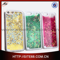 New quicksand star Crystal Hard back Case cover for Iphone 6G