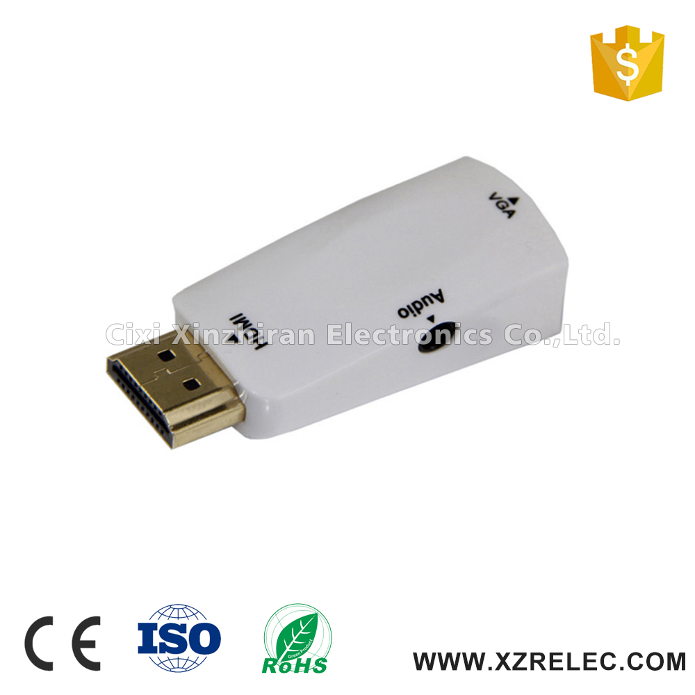 Flexible for micro hdmi male to hdmi female adapter