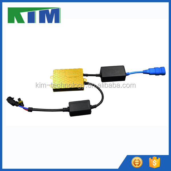 KIM High quality 35w/55w xenon slim hid CANBUS ballasts with CE E-mark FCC
