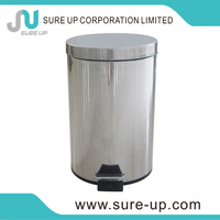 Fashion design hand free automatic dustbin sensor trash can ljx-as1-15mt(DSUA)