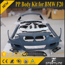 JC Sportline PP Material New 1 Series F20 Body Kit for BMW F20 M Tech Style