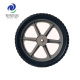 14 inch solid rubber wheels for garden trailer, wheelbarrow, trolly