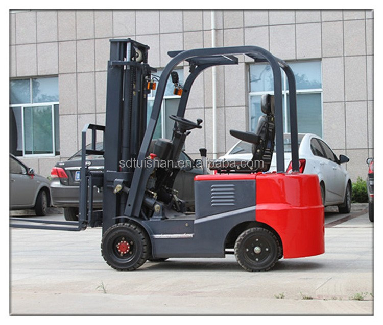 CPD80-100 heavy equipment energy efficiency low cost electric forklift for sale