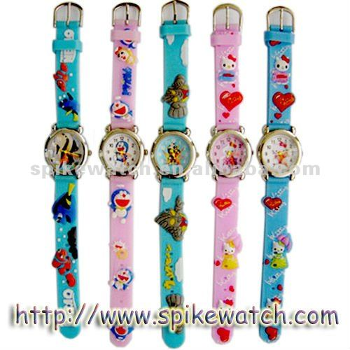 Children watches silicone band promotional type
