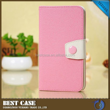 hot sale purse leather case for samsung galaxy note 3 wallet case with card solt