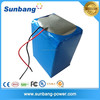 high quality customized rechargeable 22v lipo battery pack