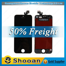 Wholesale for iphone5 lcd+touch screen digitizer,for iphone 5 lcd digital display