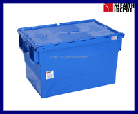 N6040/365B Plastic Transport Container with Lids
