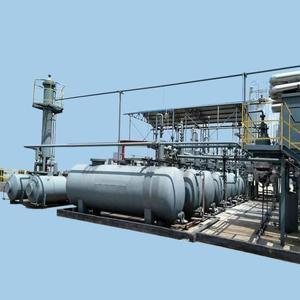 high quality with competitive price crude oil refining machine/used engine oil recycling machine